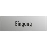 """Schilder """"Eingang"""" (edelstahl)"""