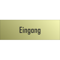 """Schilder """"Eingang"""" (gold look)"""