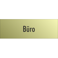 "Schilder ""Büro"" (gold look)"