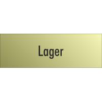 """Schilder """"Lager"""" (gold look)"""