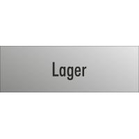 """Schilder """"Lager"""" (edelstahl)"""