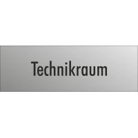 """Schilder """"Technikraum"""" (edelstahl)"""