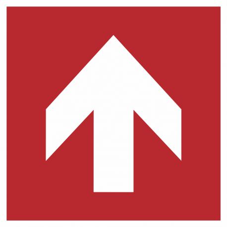 """Schilder """"Richtungsangabe aufwärts"""""""
