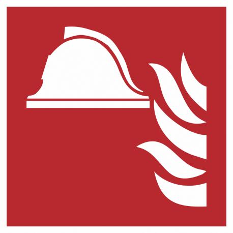 """Schilder """"Mittel und Geräte zur Brandbekämpfung"""""""