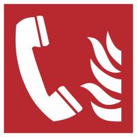 """Schilder """"Brandmeldetelefon"""""""