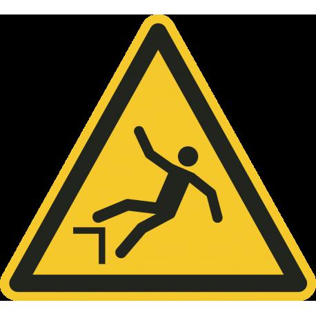 """Aufkleber """"Warnung vor Absturzgefahr"""""""