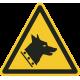"""Aufkleber """"Warnung vor dem Wachhund"""""""