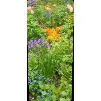 Mülltonnenaufkleber (Frühling Garten)