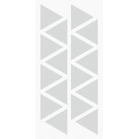Markierungsaufkleber Dreieckig 16 mm pro Blatt (30 Stück)