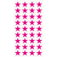 Markierungsaufkleber Stern 15 mm pro Blatt (40 Stück)