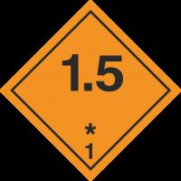 ADR 1.5 Entzündliche Gase Schilder