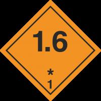 ADR 1.6 Entzündliche Gase Schilder
