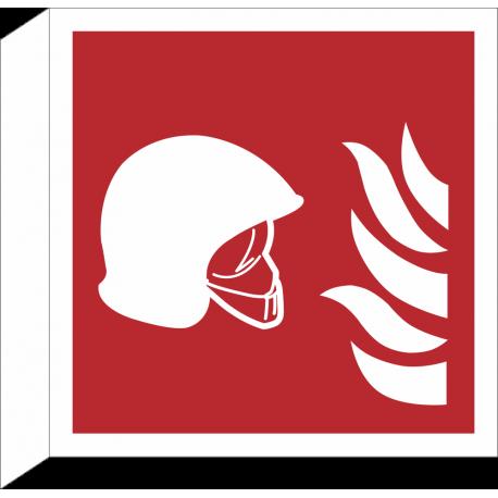 """Schilder """"Mittel und Geräte zur Brandbekämpfung"""" (rechtwinkliges Modell)"""