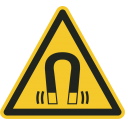 """Schilder """"Warnung vor magnetischem Feld"""""""