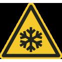 """Schilder """"Warnung vor niedriger Temperatur/Frost"""""""