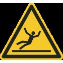 """Schilder """"Warnung vor Rutschgefahr"""""""