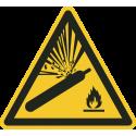 """Schilder """"Warnung vor Gasflaschen"""""""