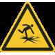 """Aufkleber """"Warnung vor dünnem Eis"""""""