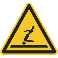 """Aufkleber """"Warnung vor flachem Wasser (Kopfsprung)"""""""