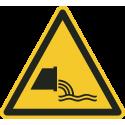 """Aufkleber """"Warnung vor Abwassereinleitung"""""""