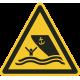 """Aufkleber """"Warnung vor Schiffsverkehr"""""""