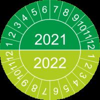 Mehrjahres-Prüfplaketten (grün)