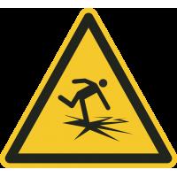 """Schilder """"Warnung vor dünnem Eis"""""""