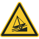 """Schilder """"Warnung vor Slipanlage"""""""