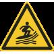 """Schilder """"Warnung vor Windsurfbereich"""""""