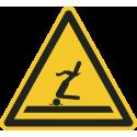 """Schilder """"Warnung vor flachem Wasser (Kopfsprung)"""""""