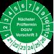 Prüfplaketten 'Nächster Prüftermin DGUV Vorschrift 3'