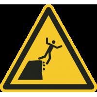 """Schilder """"Warnung vor instabiler Klippenkante"""""""