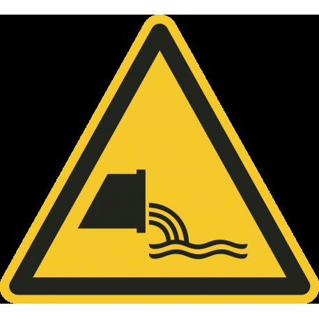 """Schilder """"Warnung vor Abwassereinleitung"""""""
