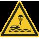"""Schilder """"Warnung vor Parasailing"""""""