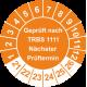 Prüfplaketten 'Geprüft nach TRBS 1111 Nächster Prüftermin'
