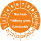 Prüfplaketten 'Nächste Elektro-Prüfung'