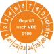 Prüfplaketten 'Geprüft nach VDE 0100'