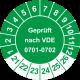 Prüfplaketten 'Geprüft nach VDE 0701-0702'