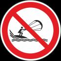 """Schilder """"Kitesurfen verboten"""""""