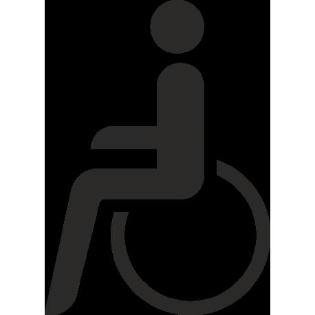 Behindertentoilette Aufkleber Ohne Hintergrund Für Innen Und Außen