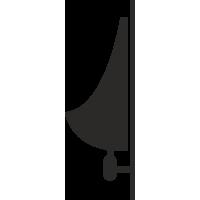 Pissoir Aufkleber (ohne Hintergrund)
