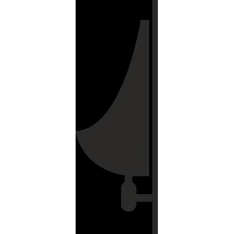 Pissoir-Aufkleber (ohne Hintergrund)