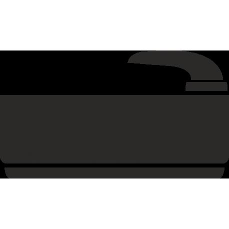 Baderaum-Aufkleber (ohne Hintergrund)