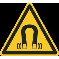 """Warnung vor magnetischem Feld""-Fußbodenaufkleber"