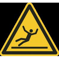 """""""Warnung vor Rutschgefahr""""-Fußbodenaufkleber"""