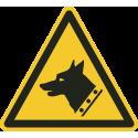 """""""Warnung vor dem Wachhund""""-Fußbodenaufkleber"""