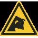 """Warnung vor dem Stier""-Fußbodenaufkleber"
