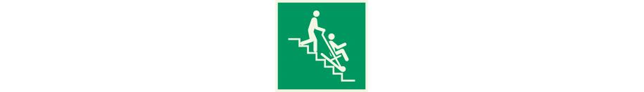 Lumineszierend Sicherheitszeichen Schilder
