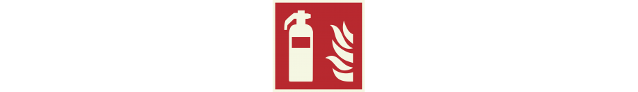 Lumineszierend Brandschutzzeichen Schilder