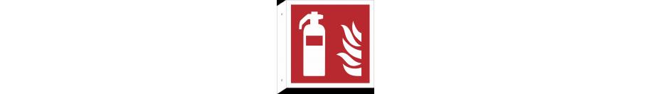 Brandschutzschilder (rechtwinkliges Modell)